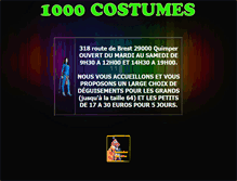 Tablet Preview of 1000costumes.fr